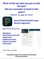 PowerSchool App for Students and Parents
